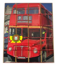 "LPzB, Chocolate souvenir, ""London Bus"""