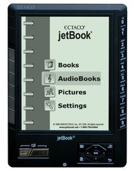 jetBook eBook Reader with Built-in MP3 Player Spanish